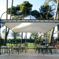 Gazebo-in-ferro-battuto